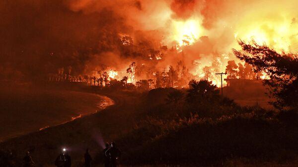 Шумски пожар у Грчкој - Sputnik Србија