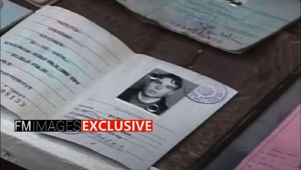 Једна од личних карата порнађених на Кошарама када су терорости ОВК упали у караулу - Sputnik Србија