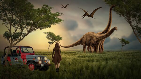 Dinosaurusi – ilustracija - Sputnik Srbija