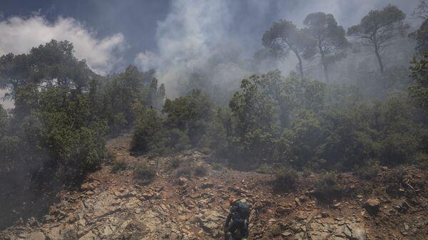 Шумски пожари у Грчкој - Sputnik Србија