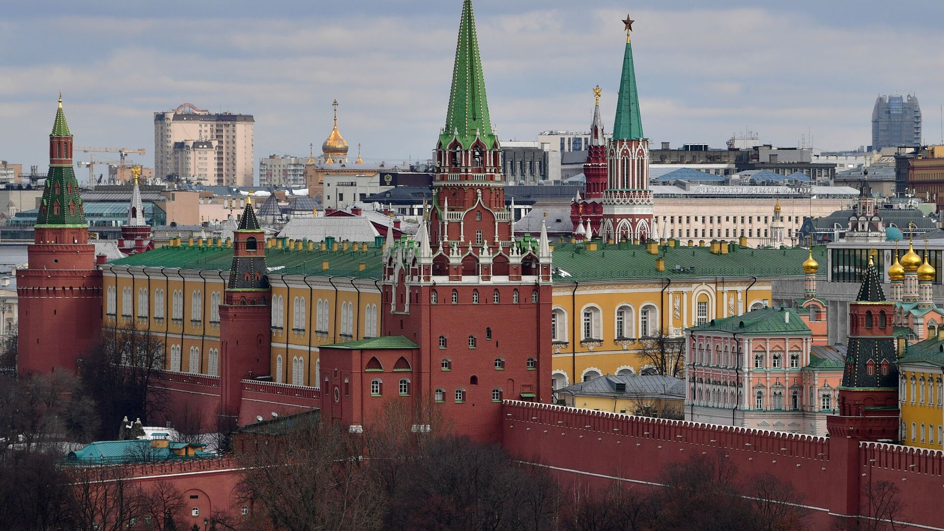 Поглед на московски Кремљ - Sputnik Србија, 1920, 08.07.2021