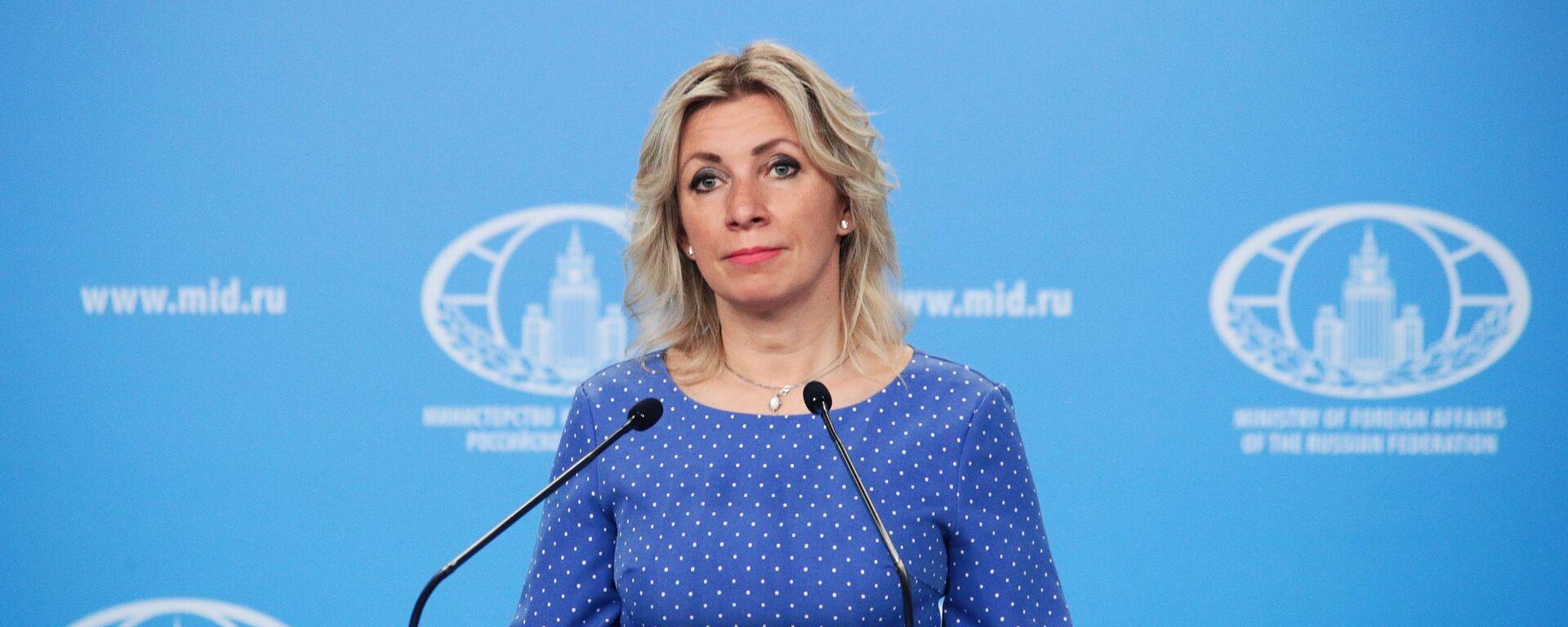 Portparolka Ministarstva spoljnih poslova Rusije Marija Zaharova - Sputnik Srbija, 1920, 16.08.2021