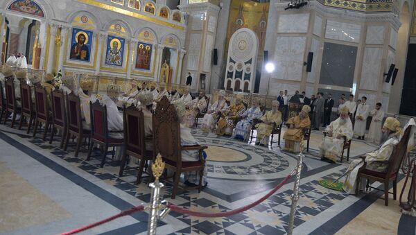 Zasedanje Svetog Arhijerejskog Sabora Srpske Pravoslavne Crkve - Sputnik Srbija