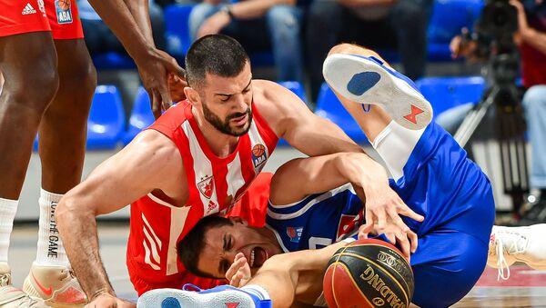 Detalj sa utakmice Budućnost - Crvena zvezda - Sputnik Srbija
