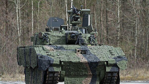 "Oklopno vozilo ""ejdžaks"" (Ajax) - Sputnik Srbija"