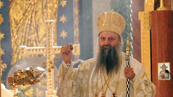 Njegova Svetost Patrijarh srpski Porfirije - Sputnik Srbija