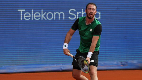 Srpski teniser Peđa Krstin tokom Beograd opena - Sputnik Srbija