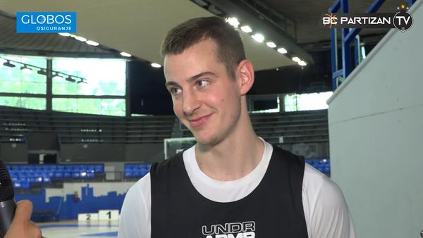 Američki košarkaš Trej Dreksel u dresu Partizana - Sputnik Srbija