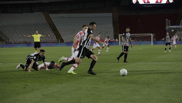 Fudbaleri FK Crvena zvezda i FK Partizan - Sputnik Srbija