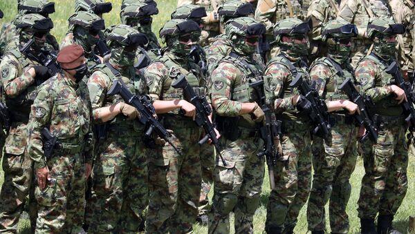 Припадници 72. бригаде за специјалне операције - Sputnik Србија