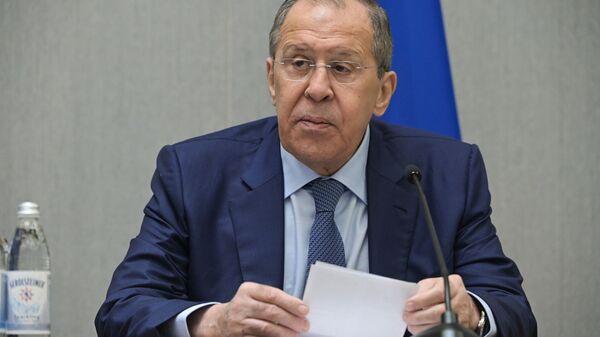 Ministar spoljnih poslova Rusije Sergekj Lavrov  - Sputnik Srbija