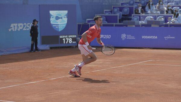 Novak Đoković u polufinalu Beograd opena - Sputnik Srbija