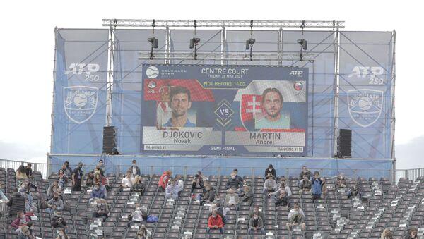 Detalj sa meča Novak Đoković - Andrej Martin - Sputnik Srbija