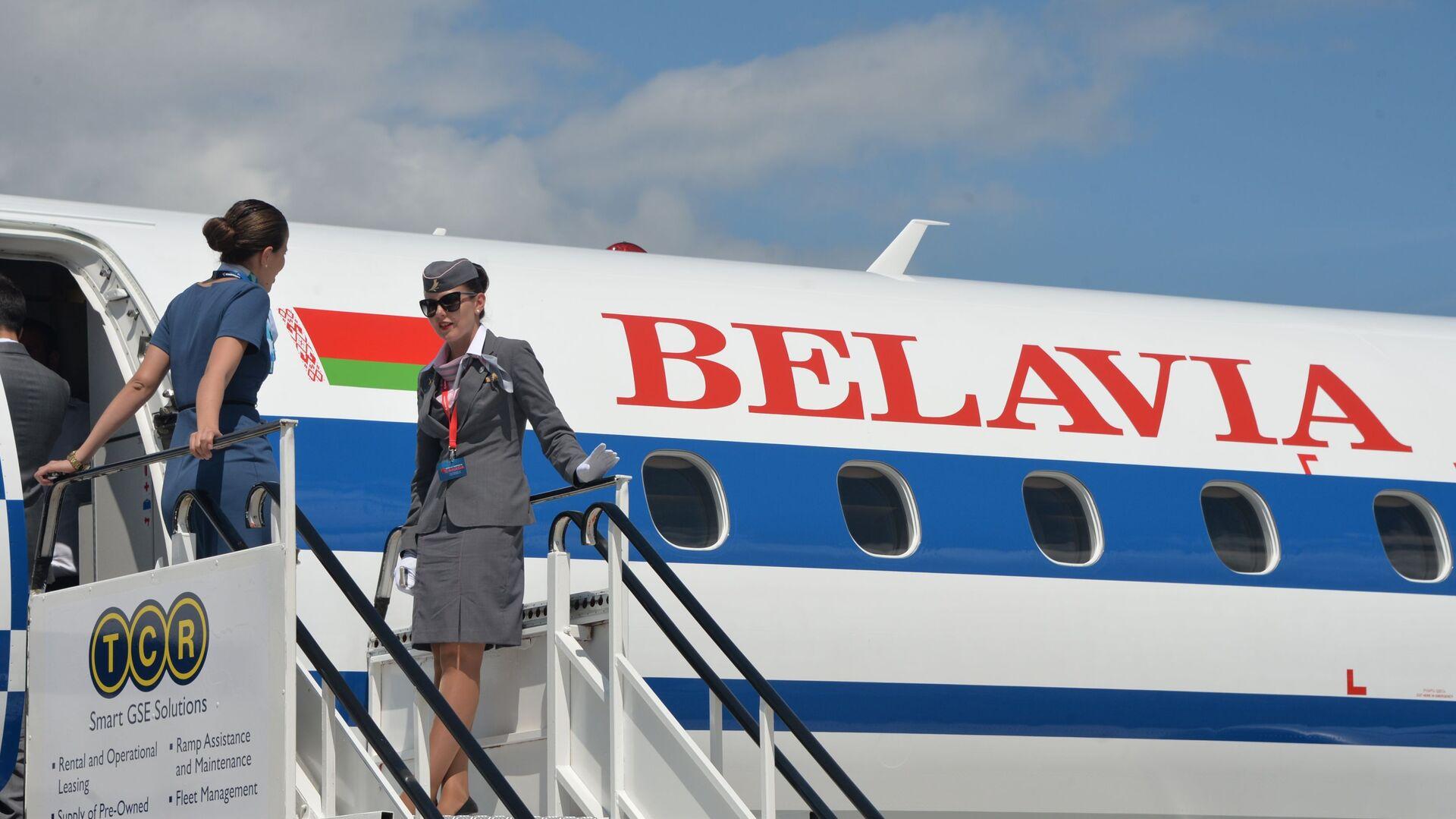 Авион белоруске компаније Белавиа - Sputnik Србија, 1920, 05.06.2021