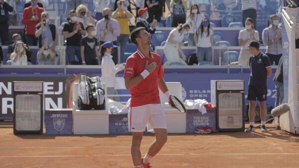 Najbolji teniser sveta Novak Đoković - Sputnik Srbija