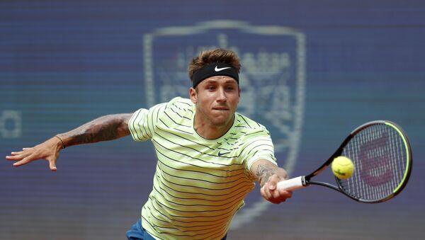Slovački teniser Aleks Molčan tokom turnira u Beogradu - Sputnik Srbija