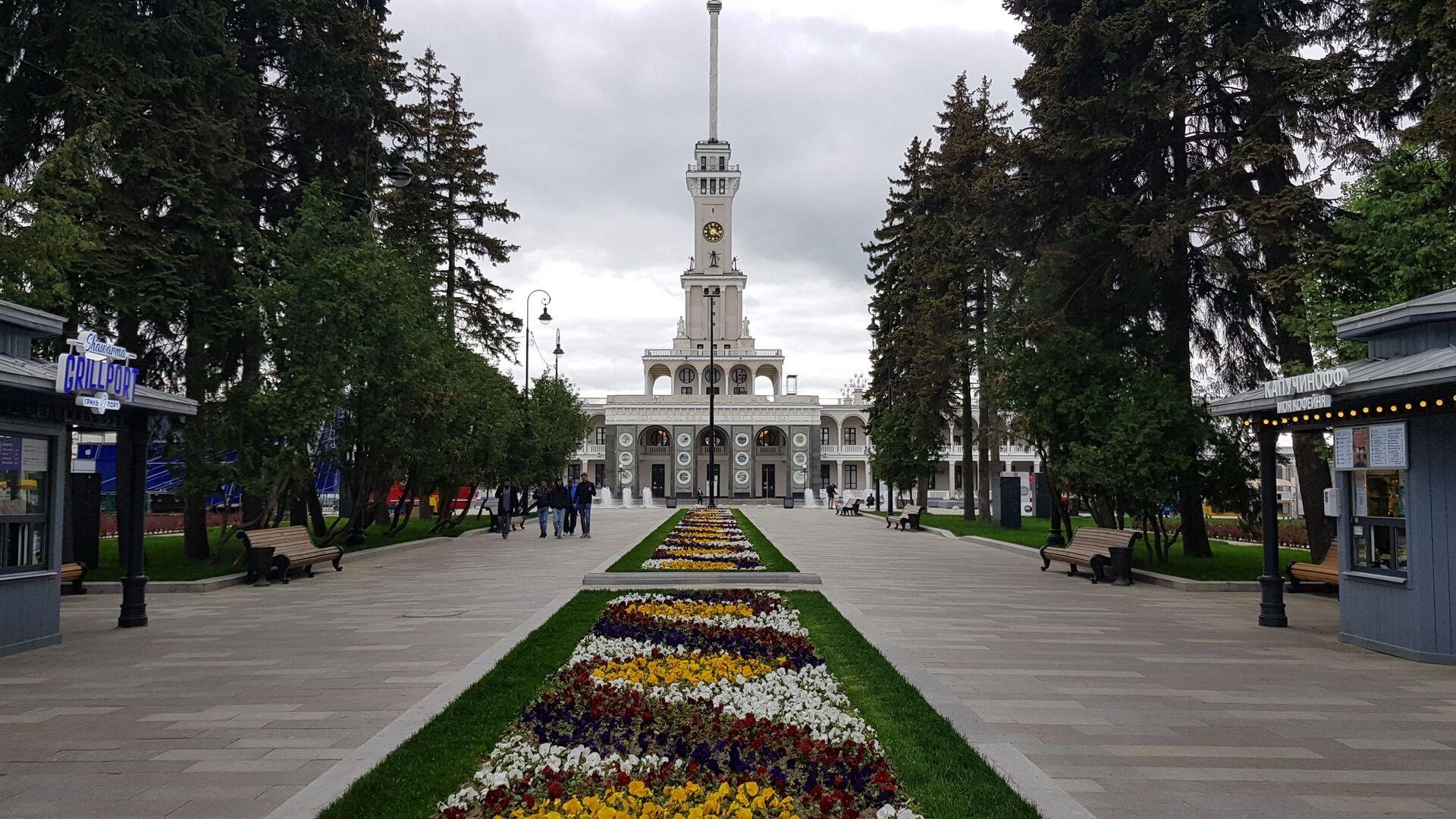 Северна речна станица у Москви - Sputnik Србија, 1920, 30.05.2021