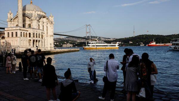 Turisti na Bosforu - Sputnik Srbija