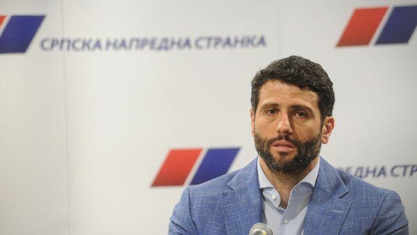 Aleksandar Šapić - Sputnik Srbija