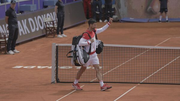 Najbolji teniser sveta Novak Đoković – Beograd open - Sputnik Srbija