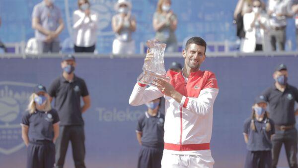 Najbolji teniser Novak Đoković  - Sputnik Srbija