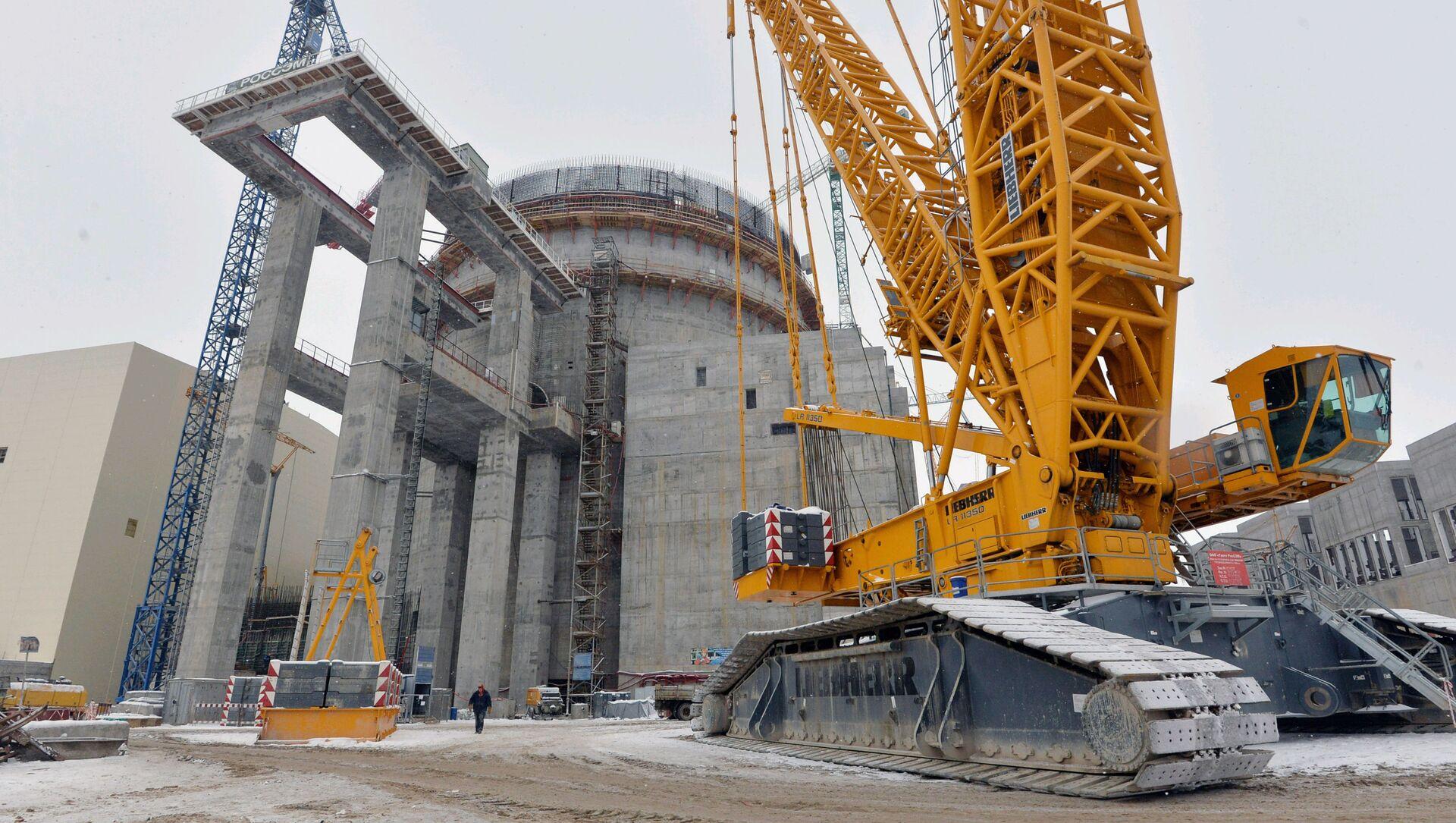 Izgradnja beloruske nuklearne elektrane - Sputnik Srbija, 1920, 30.05.2021