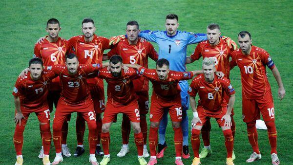 Fudbaleri Severne Makedonije - Sputnik Srbija
