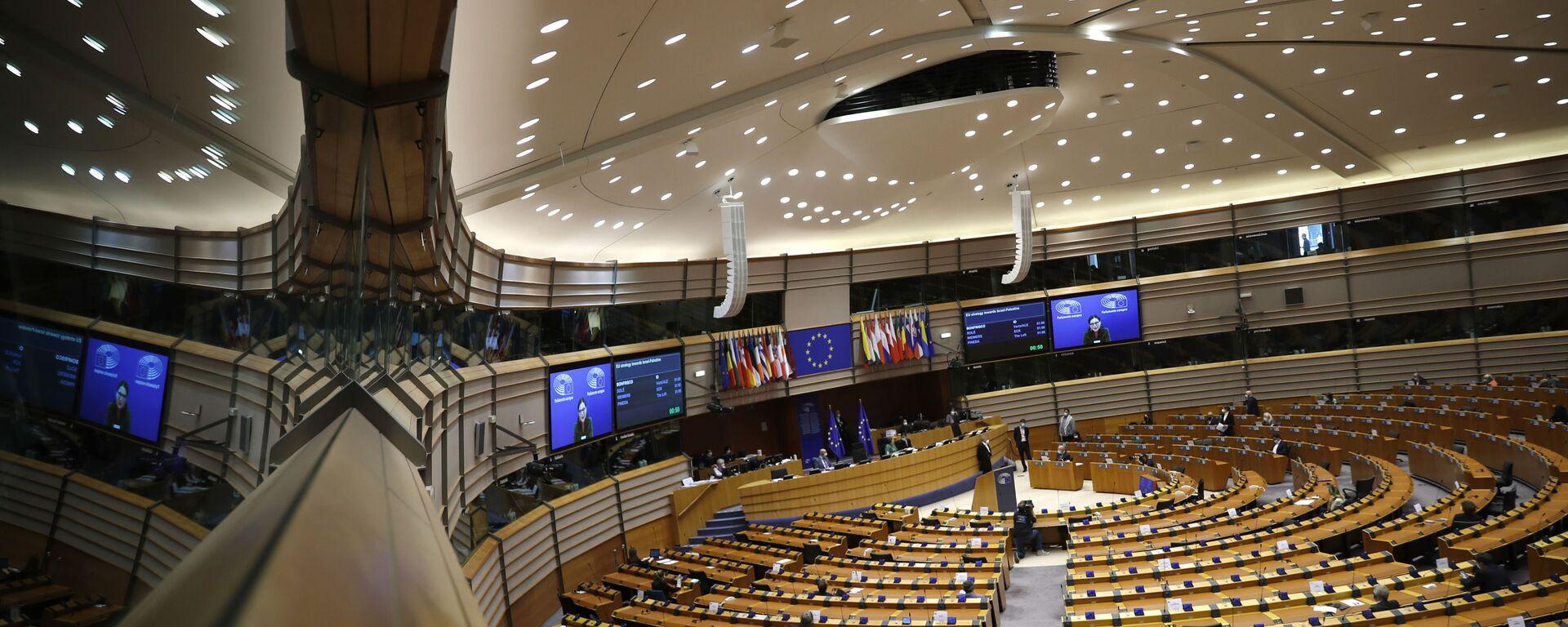 Zasedanje Evropskog parlamenta u Briselu - Sputnik Srbija, 1920, 16.09.2021