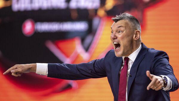 Šarunas Jasikevičijus, trener Barselone - Sputnik Srbija