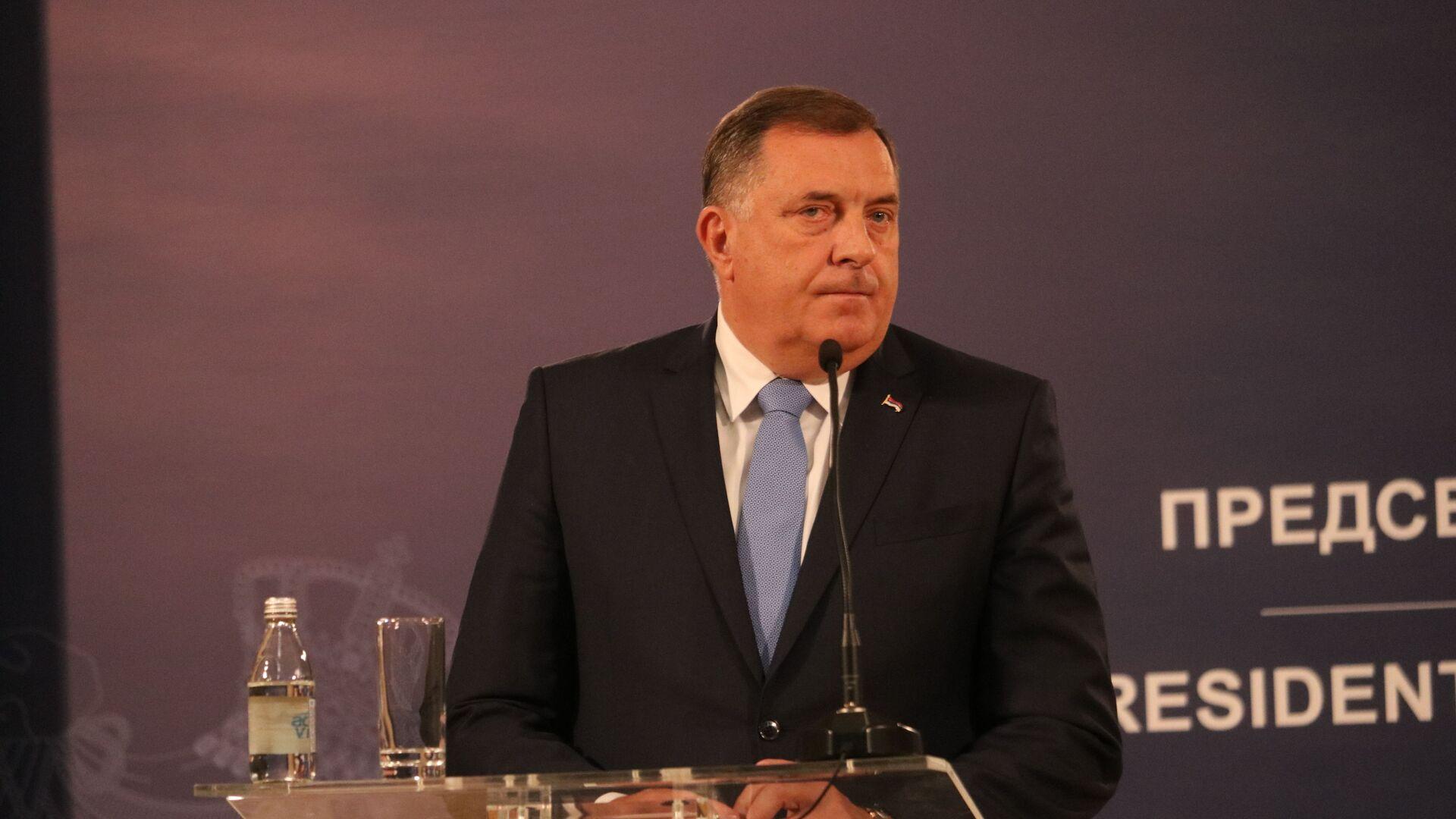 Milorad Dodik, srpski član i predsedavajući Predsedništva BiH - Sputnik Srbija, 1920, 23.07.2021