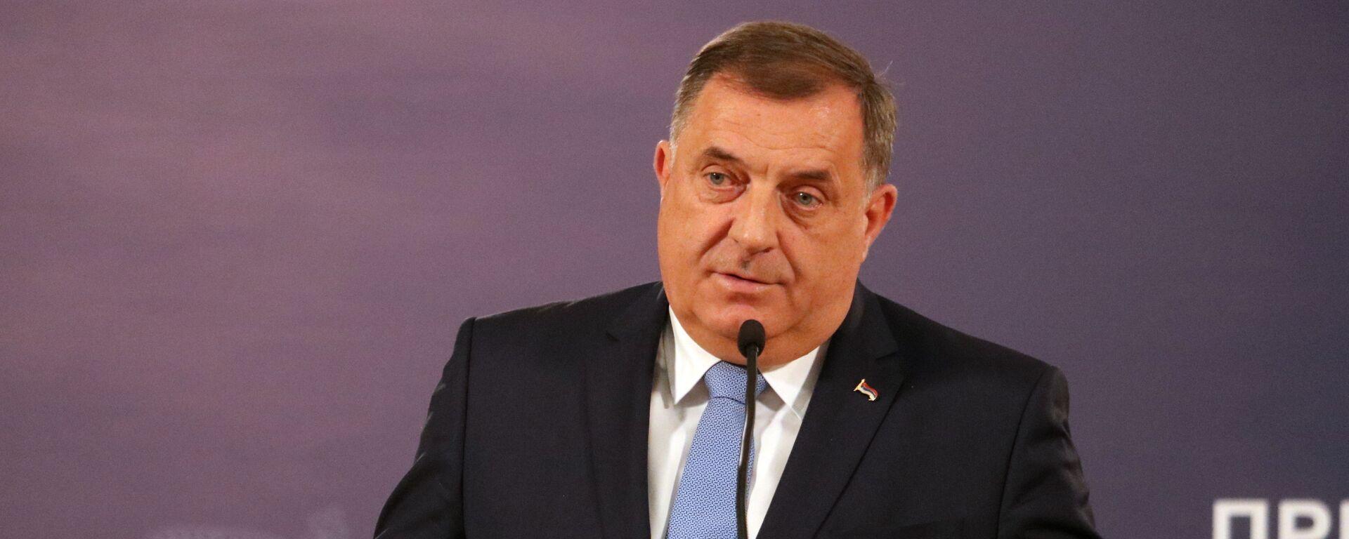 Milorad Dodik - Sputnik Srbija, 1920, 23.07.2021