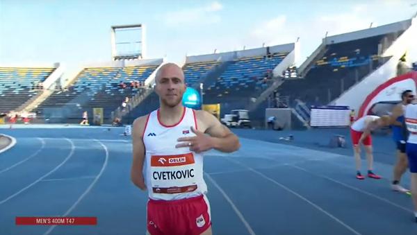 Иван Цветковић, српски параатлетичар - Sputnik Србија