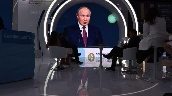 """Putin: Kritike """"Severnog toka 2"""" loša propaganda, ova maršruta kraća i jeftinija - Sputnik Srbija"""