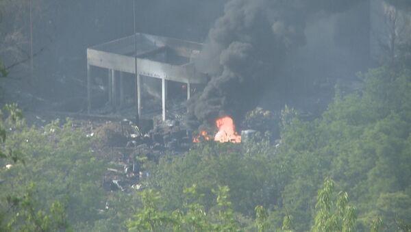 Пожар у фабрици Слобода после експлозије - Sputnik Србија