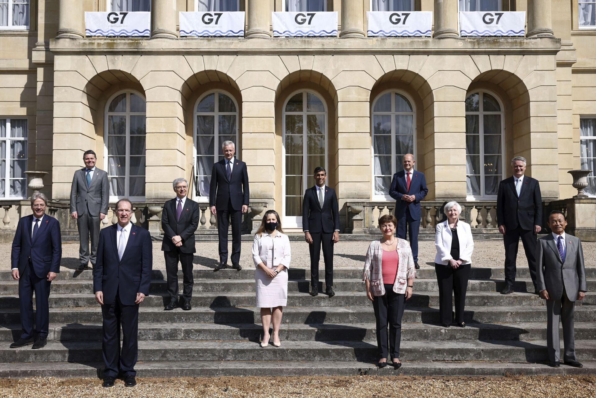 Састанак министара финансија Г7 земаља у Лондону - Sputnik Србија, 1920, 13.07.2021