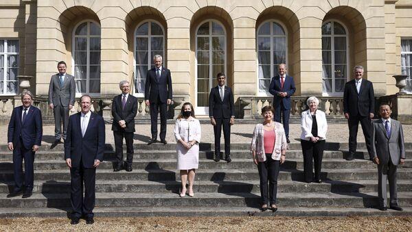 Састанак министара финансија Г7 земаља у Лондону - Sputnik Србија