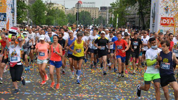 Beogradski maraton, 34. po redu - Sputnik Srbija