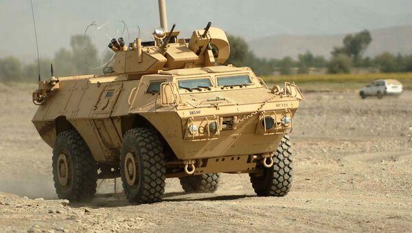 Oklopno vozilo M1117 gardijan američke proizvodnje - Sputnik Srbija