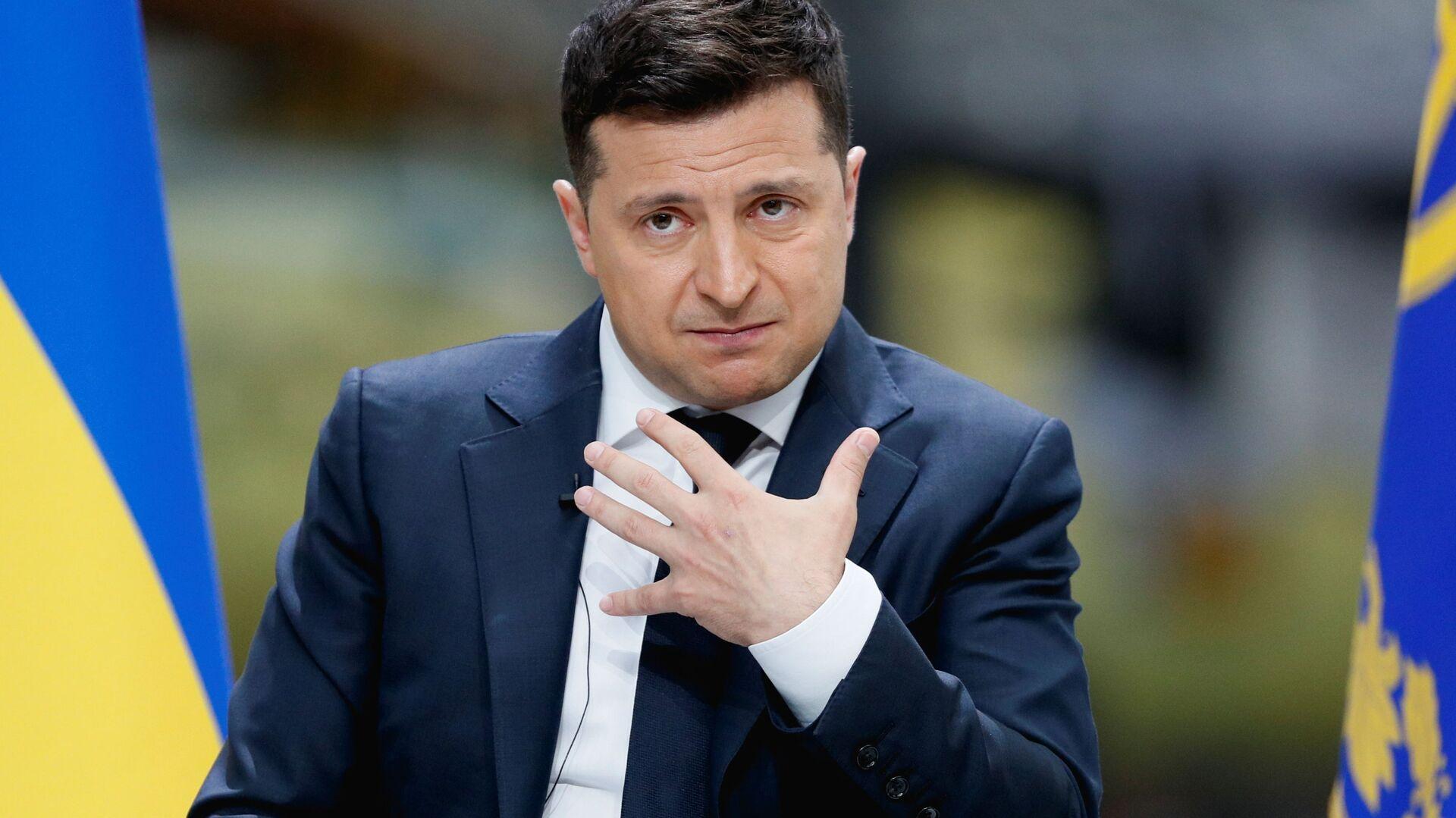 Predsednik Ukrajine Vladimir Zelenski - Sputnik Srbija, 1920, 03.08.2021