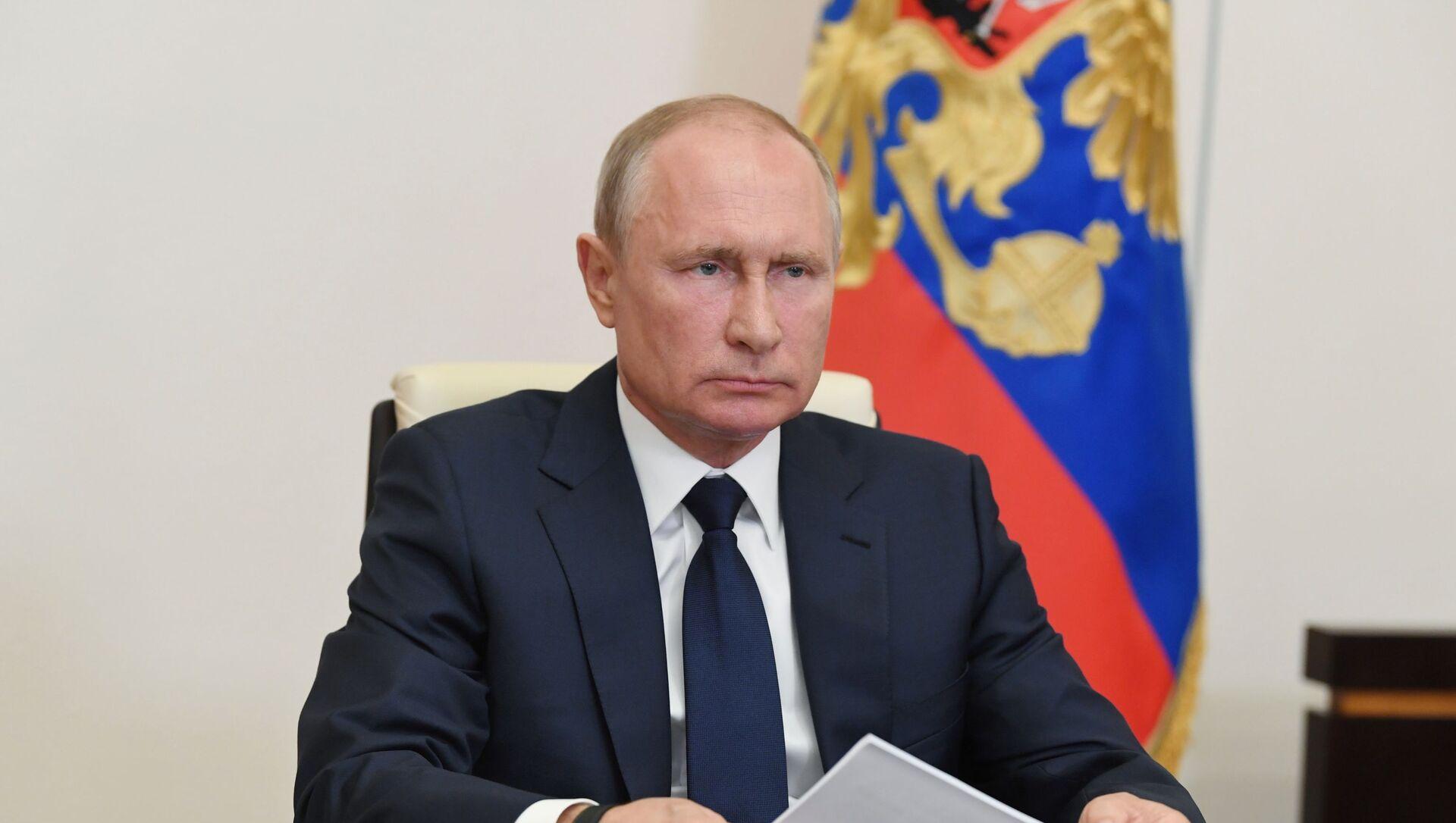 Председник Русије Владимир Путин - Sputnik Србија, 1920, 09.06.2021