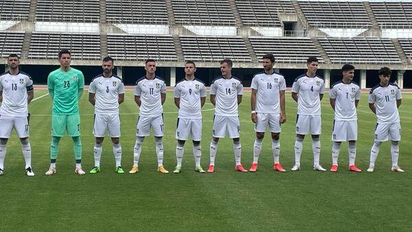 Фудбалска репрезентација Србије пред пријатељски меч са Јамајком - Sputnik Србија