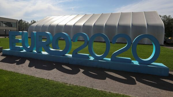 Лого европског фудбалског првенства ЕУРО 2020 - Sputnik Србија