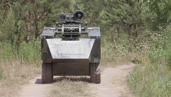 Роботизовани противтенковски комплекс Богомол, Белорусија - Sputnik Србија
