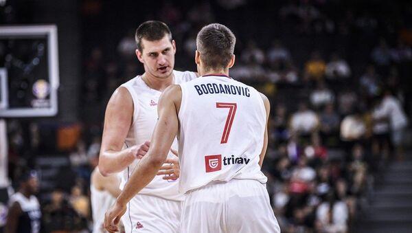 Nikola Jokić i Bogdan Bogdanović - Sputnik Srbija