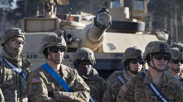 Američki vojnici na vežbama u Litvaniji - Sputnik Srbija