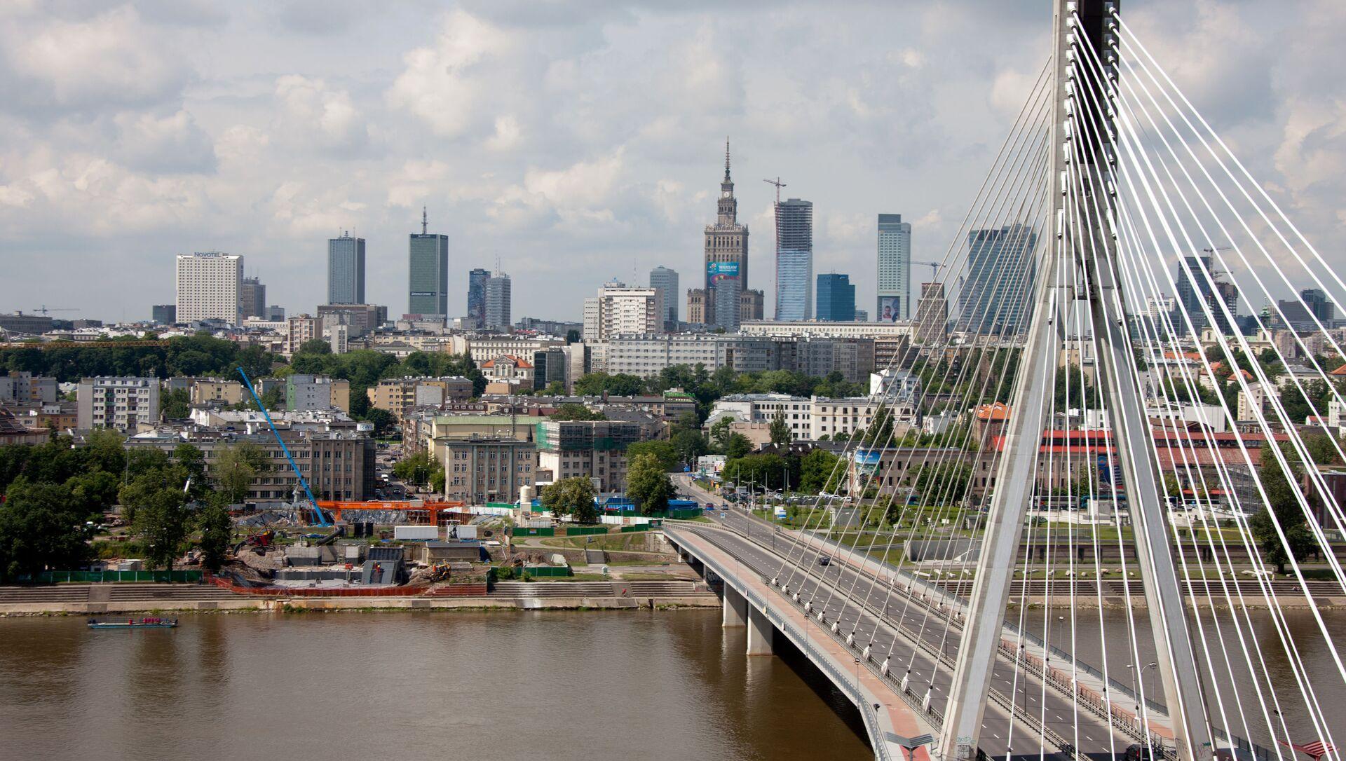 Поглед на реку Вислу у Варшави - Sputnik Србија, 1920, 10.06.2021