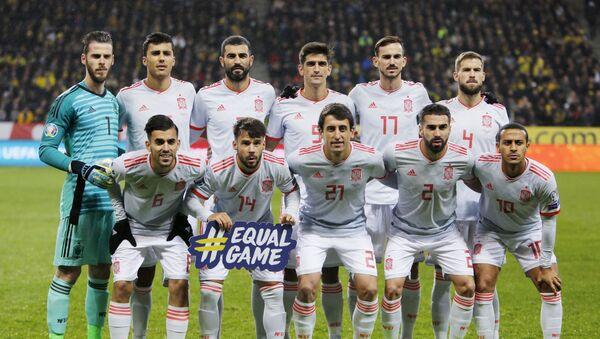 Fudbaleri FS Španija - Sputnik Srbija