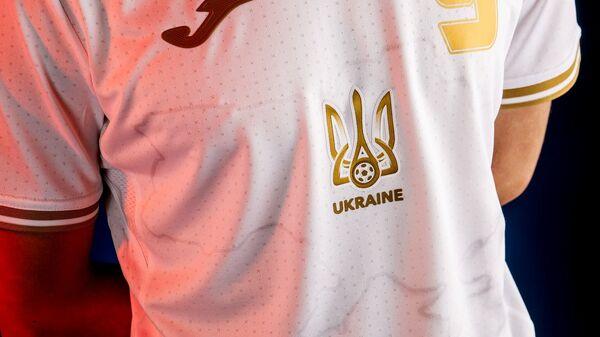 Дрес украјинске фудбалске репрезентације са обрисом Украјине која укључује и Крим - Sputnik Србија