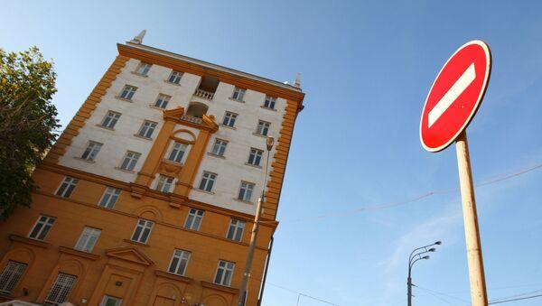 Америчка амбасада у Москви - Sputnik Србија