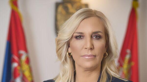 Ministarka pravde Maja Popović - Sputnik Srbija